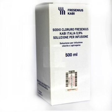 Sodio cloruro (fresenius kabi) 1 flacone ev 500 ml 0,9%