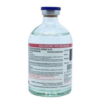 Sodio cloruro galenica senese 0,9 % flacone 100 ml