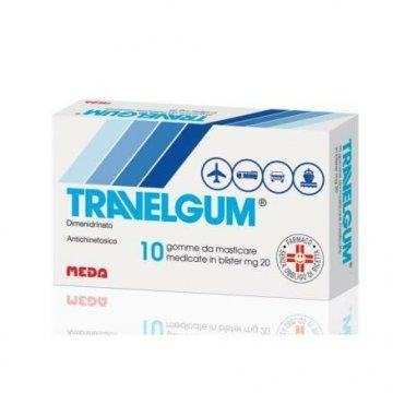Travelgum Antiemetico 10 Gomme Masticabili 20 mg