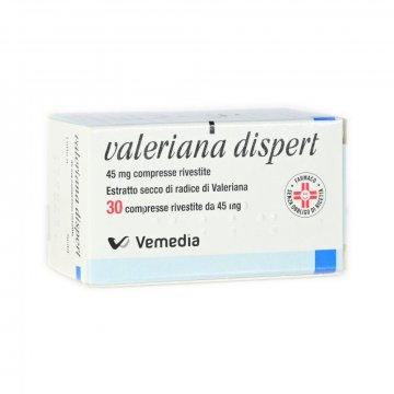 Valeriana Dispert 45 mg 30 compresse Sedativo