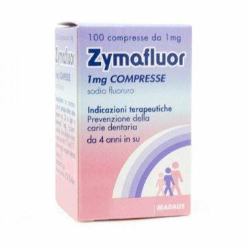Zymafluor 1 mg prevenzione carie 100 compresse