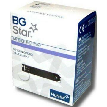 Bgstar Mystar Strisce Reattive Glicemia 25 pezzi