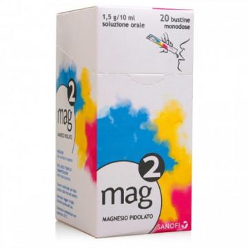 Mag 2 magnesio soluzione orale 10 ml 20 bustine monodose