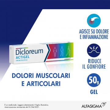 Dicloreum actigel 1% dolori muscolari&articolari