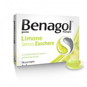 Benagol Limone per il benessere della gola 16 pastiglie