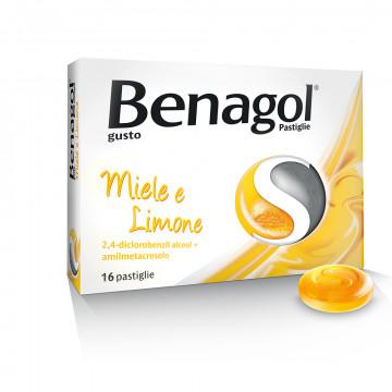 Benagol 16 pastiglie Benessere della gola gusto miele e limone
