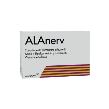 ALAnerv 920 mg 20 capsule Integratore Antiossidante