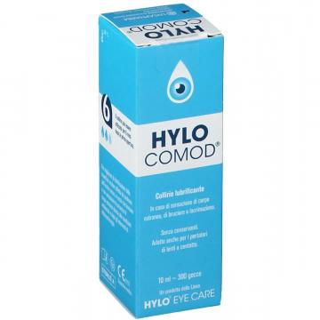 Hylo-comod Collirio Lubrificante Ialuronato di sodio 0,1% 10ml
