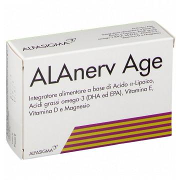 Alanerv age 20 capsule softgel per sistema nervoso