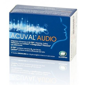 Acuval Audio Integratore Udito 14 bustine orosolubile 1,8 g