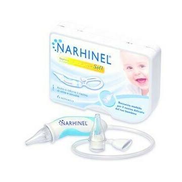 Narhinel Soft Aspiratore nasale + 2 Ricambi soft