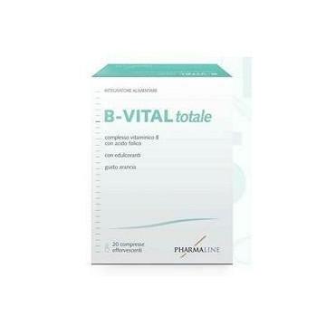 B-Vital Totale Vitamine B Acido Folico 20 compresse effervescenti