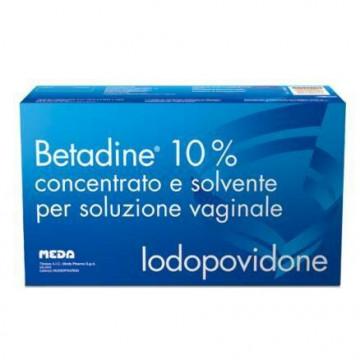 Betadine 10% Soluzione Vaginale 5 flaconi + 5 fiale +5 cannule