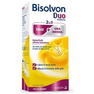 Bisolvon Duo Emolliente Tosse e Gola irritata 100 ml Sciroppo