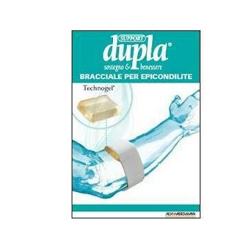 Bracciale epicondilite dupla support taglia unica