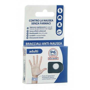 Seaband p6 control bracciale nausea adulti 2 bracciali