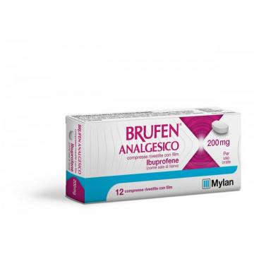 Brufen analgesico 12 compresse rivestite 200 mg