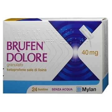 Brufen dolore bustine granulari 24 bustine 40 mg