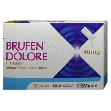 Brufen dolore orale granulare 12 bustine 40 mg