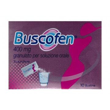 Buscofen antinfiammatorio granulato 10 bustine 400mg