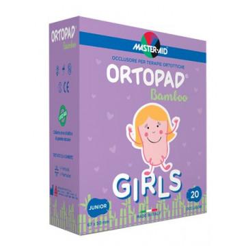 Cerotto oculare per ortottica ortopad girls junior 5x6,7 20pezzi