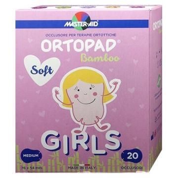 Cerotto oculare per ortottica ortopad soft girls m 20 pezzi