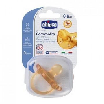 Chicco gommotto physio soft ltx 0-6 mesi 1 pezzo