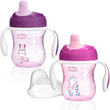 Chicco tazza training rosa 6 mesi