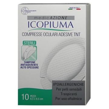 Compresse oculari adesive sterili 10 pezzi