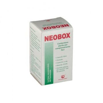 Contenitore per feci neobox capienza 60ml