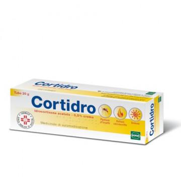 Cortidro 0,5% Crema dermatologica Punture Prurito Ustioni 20 g