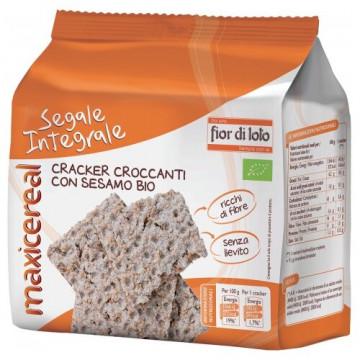 Crackers di segale integrale con sesamo 200 g