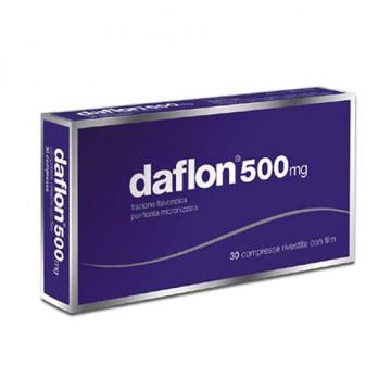 Daflon 500 mg emorroidi e insufficienza venosa  30 compresse