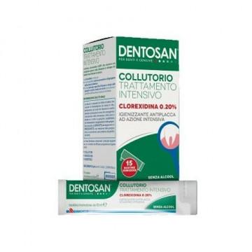 Dentosan collutorio monodose intensivo 0,20% 15 bustine da 10 ml