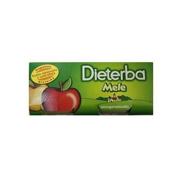 Dieterba omogeneizzato mela 3 pezzi 80 g