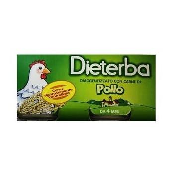 Dieterba omogeneizzato pollo 3 pezzi 80 g