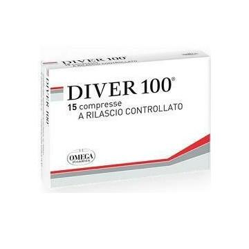 Diver 100 integratore per diverticoli 15 compresse