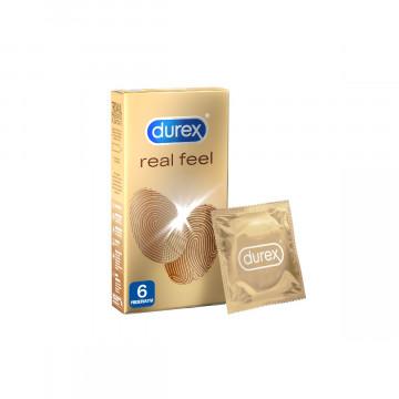Durex real feel  preservativi 6 pezzi