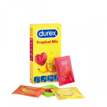 Durex tropical easy on preservativi 6 pezzi