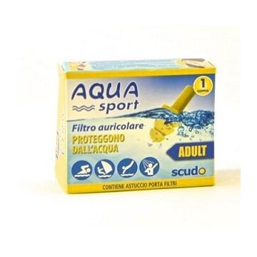 Earplug scudo aquasport ad 2pz