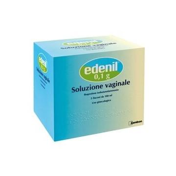 Edenil soluzione vaginale 5 flaconi 100 ml