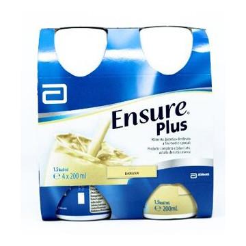 Ensure Plus Banana Integratore Ipercalorico 4 x 200 ml