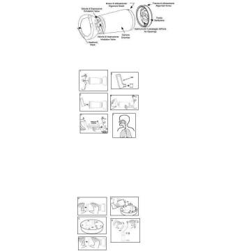 Espace camera distanziatrice per erogatori spray arancione 0-2 anni