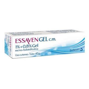 Essaven Gel Vasoprotettore Gambe 40 g 10 mg/g + 8 mg/g