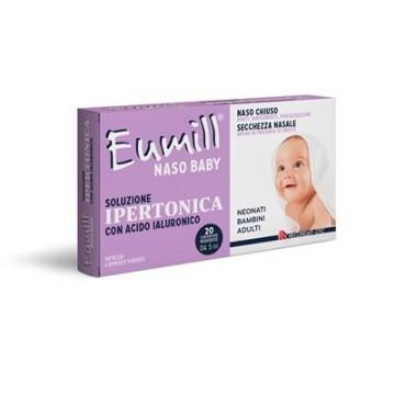Eumill naso baby soluzione ipertonica 20 flaconcini monodose5 ml