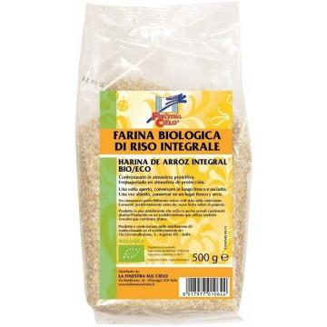 Farina integrale di riso bio 500 g