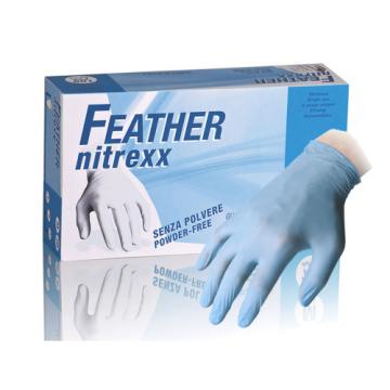 Guanti monouso in nitrile blu senza polvere box 100 guanti XL
