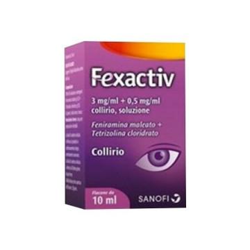 Fexactiv collirio antistaminico flacone 10 ml