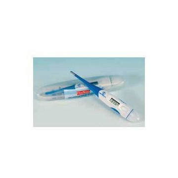Flexitemp termometro digitale impermeabile a punta flessibile misurazione della temperatura dopo 30 secondi segnale acustico e memoria dimensioni ridotte