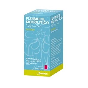 Fluimucil Mucolitico 100mg / 5ml Sciroppo